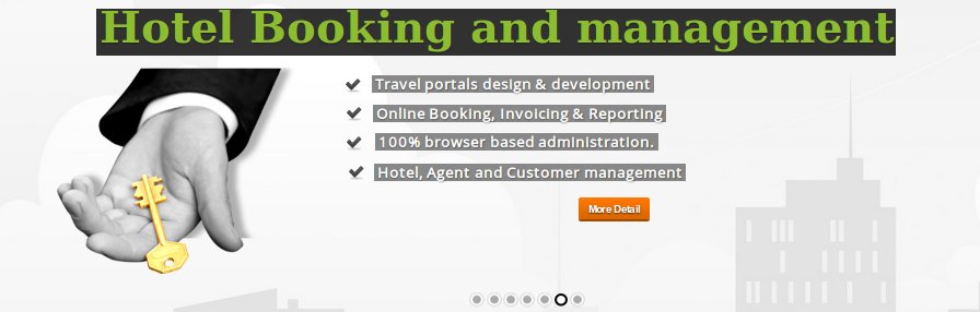 online hotel booking invoicing reporting