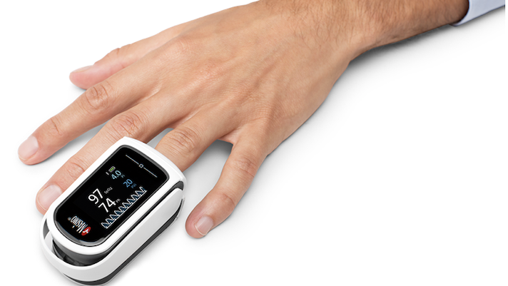 IOT Enabled Heart Rate & Oxygen Level by using OxyMeter